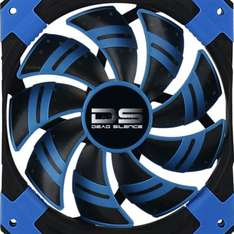 "Aerocool Lüfter ""Dead Silence Blue(or Red or Black) Edition"" 120x120x25 @ZackZack"