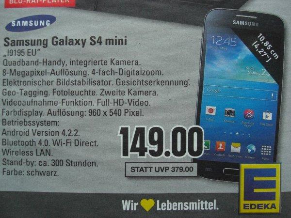 [Lokal Edeka Neuenhaus] Samsung Galaxy S4 mini i9195 EU (schwarz)
