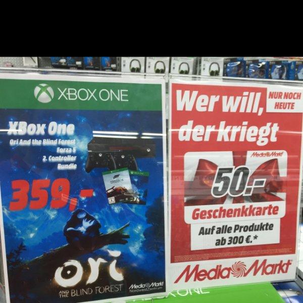 Xbox One Bundle mit Ori und Forza 5 und 2. Controller UND 50€ Gutschein!