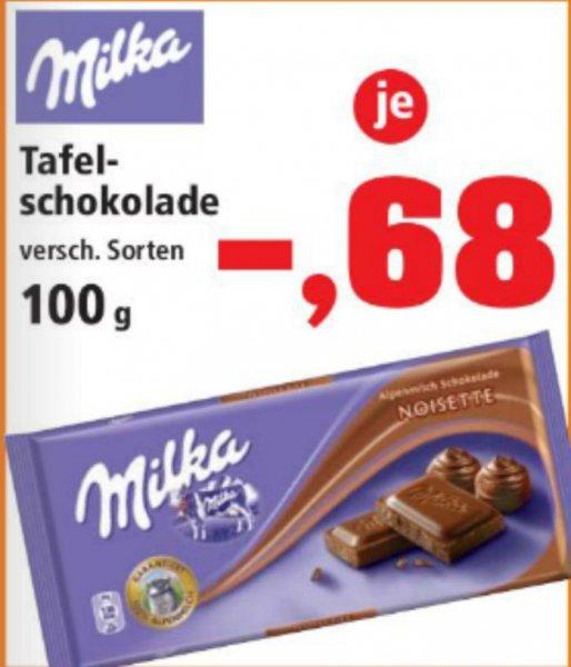 [Bundesweit]Thomas Phillips Milka 100g - 68 Cent / bis zu 43 Cent Scondoo