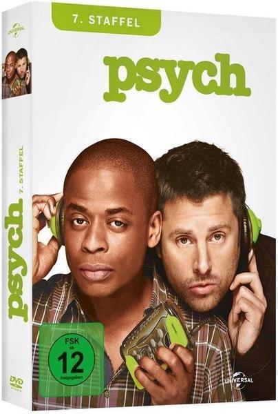 """Serie """"Psych"""" 7. Staffel auf DVD"""