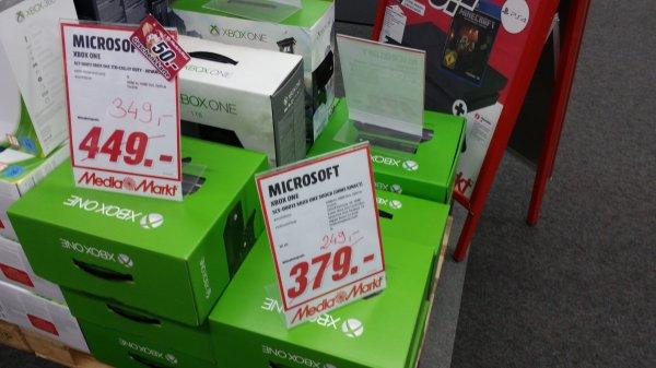 Xbox one für 249€. Lokal MM Bochum oder 349 1TB oder 299 mit Kinect Bundle
