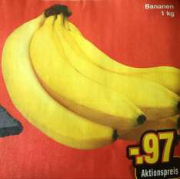 [Netto ohne Hund] Bananen 1kg = 0,97€