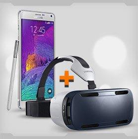 Galaxy Note 4 + Gear VR Brille - Saturn Super Sunday