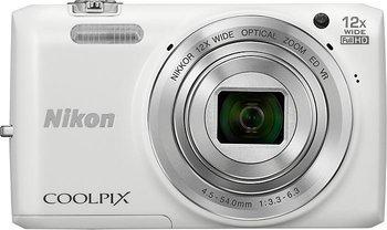 NIKON Coolpix S6800 weiß,  @MediaMarkt