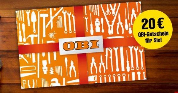 10x Bild am Sonntag BAMS mit 8€ effektiven Gewinn (Obi Gutschein)