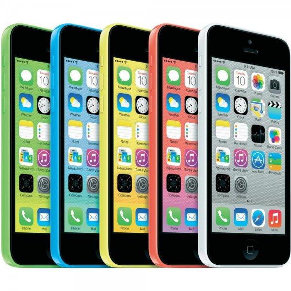 [eBay, GRAVIS] Apple iPhone 5C 8GB LTE verschiedene Farben für 289€