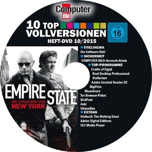 (@lesershop24) 6x (8x bei Lastschrift) COMPUTER BILD mit DVD für 17,90€ +  15 Euro Barscheck