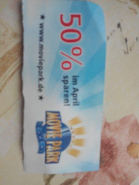 ( Nur noch bis Donnerstag 30.4.2015 ) MoviePark Eintritt für 18,50€