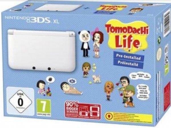 [Lokal MM Bayreuth] Nintendo 3DS XL weiß inkl. TomoDachi Life
