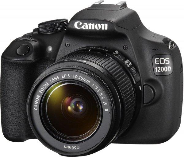 Canon EOS 1200D + Objektiv + Eyefi Mobi 8GB + 100€ Reise Gutschein