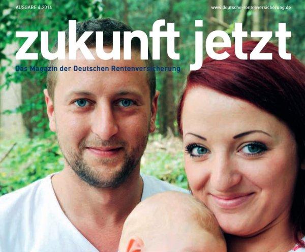 """Kostenlose Zeitschrift """"Zukunft jetzt"""" zu Themen der Deutschen Rentenversicherung (sprich Rente)"""