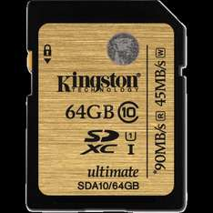 [ZACK ZACK-Flash] Kingston Secure Digital SDXC Card UHS-I 64 GB