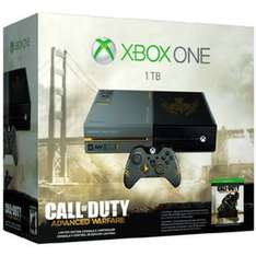 Xbox One 1TB + Call of Duty: Advanced Warfare Limited Edition für 339,99 € @Notebooksbilliger (Sarstedt, München oder Düsseldorf)