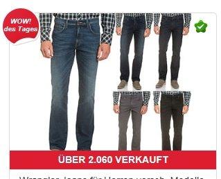 Wrangler Jeans Herren Hose versch. Modelle für 25€ @Ebay WoW [Wrangler]