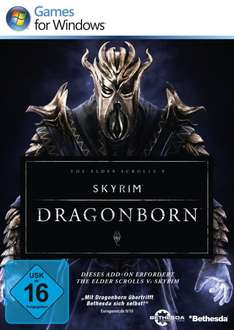 [eBay] Skyrim Dragonborn Add-On PC Steam-Key (nur Addon ohne Hauptspiel!)