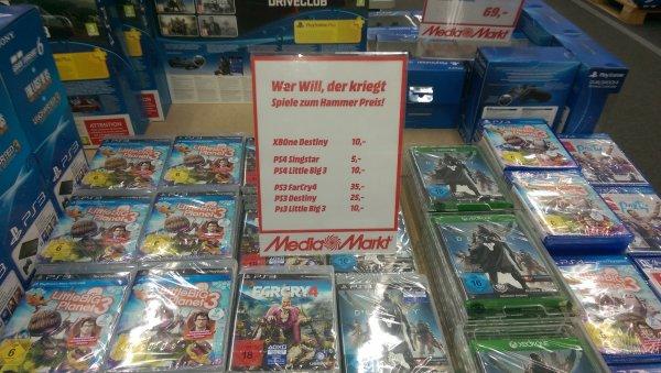Lokal Media Markt Berlin Biesdorf Destiny Xbox One und weitere...