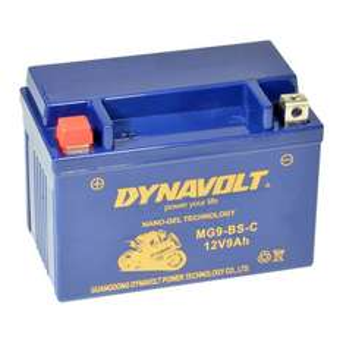 Motorrad GEL-Batterie z.B.: YTX9-BS für 15,90Euro +Versand