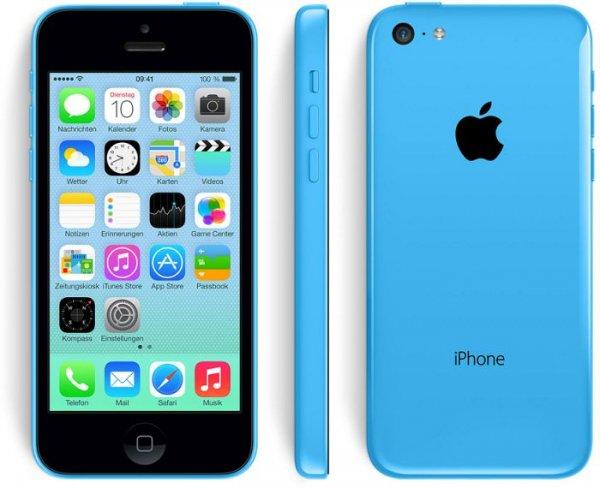 iPhone 5c 8gb blau/weiss @ebay [gravis]