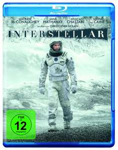 Interstellar (BluRay) Amazon Blitzangebote 8,97 € [Prime]