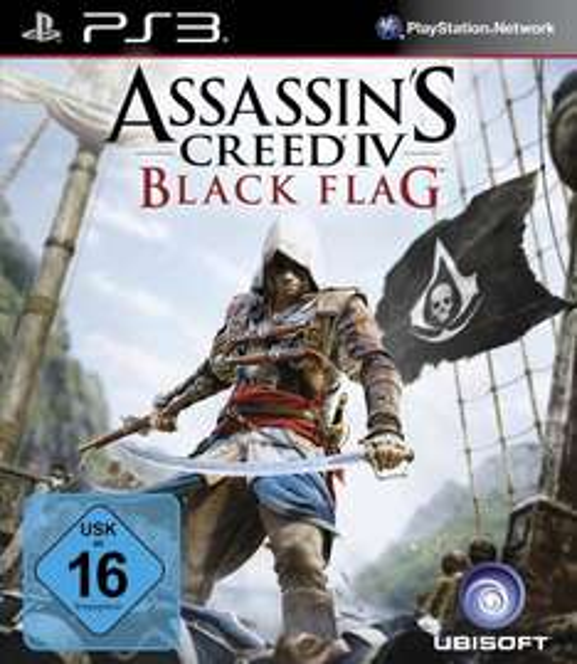 Assassin's Creed 4 - Black Flag PS3 [Amazon/Prime]