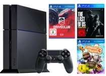 PS4 inkl. 3 Spiele (DriveClub, LittleBigPlanet 3, The Last of Us)