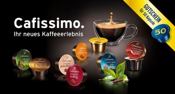 *UPDATE [TCHIBO] 50 Cafissimo Kapseln im Wert von ~14,00€ inkl. Gratis Versand mit wenig Aufwand