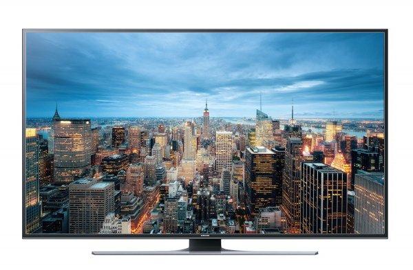 Samsung UE55JU6450 138 cm (55 Zoll) LED-Backlight-Fernseher (Ultra HD, DVB-C/T2/S2, CI+, WLAN, Smart TV, HbbTV) für 1,199€ @Saturn und Amazon