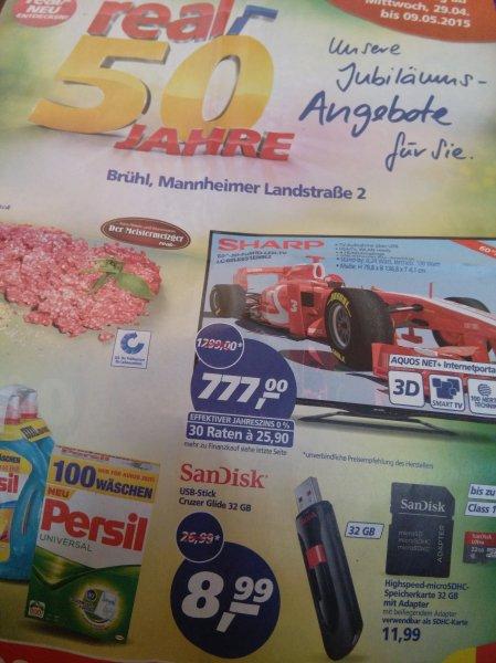 (LOKAL Brühl/ Baden) SanDisk Cruzer Glide 32 GB