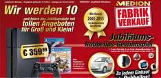 [Medion Fabrikverkauf] Playstation 4 + 1 Controller + Driveclub + Little Big Planet 3 für 359,99€