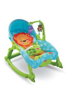 Fisher-Price Wunderwelt 2-in-1 Schaukelsitz Deluxe T4145