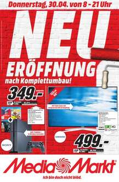 [Lokal MM Kaiserslautern] (67663) Playstation 4 inkl. LBP3, TLOU und Driveclub für 349 Euro