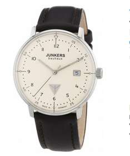 [Amazon] Junkers Bauhaus 60465 Herren Edelstahluhr mit braunen Lederarmband für 143,73€ incl.Versand!