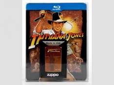[Saturn Late Night] Indiana Jones – The Complete Adventures: Limitiertes Steelbook inkl. Zippo - (Blu-ray) für 29,-€ Versandkostenfrei