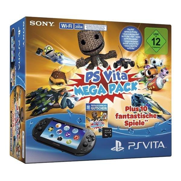 [Saturn Österreich] Sony PlayStation Vita Slim Wi-Fi + PS Vita Mega Pack + Speicherkarte 8GB für 118,-€ inc. Versand
