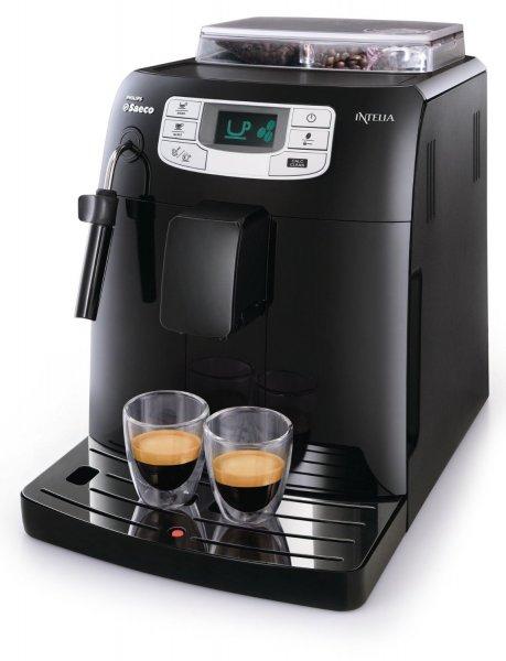 [WHD] Saeco HD8751/11 Intelia Kaffeevollautomat, Keramikmahlwerk, Dampfdüse, schwarz