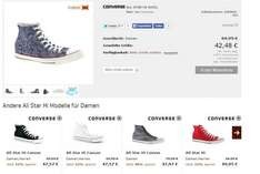 Converse All Star High Wool -50% für Damen [Top Verfügbar - 21streetwear]