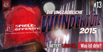[Brettspiele] Jubiläumswundertüte bei Spiele-Offensive.de ab 44,99€