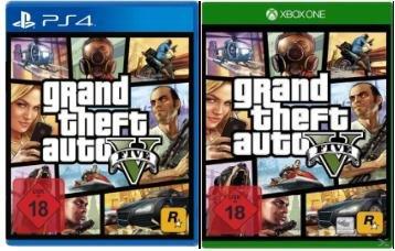 [Saturn.de] GTA 5 - Grand Theft Auto V - Xbox One / PlayStation 4 für je 39,- EUR
