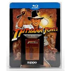 Ebay Saturn: Indiana Jones Complete Adventures Blu Ray inkl. Zippo