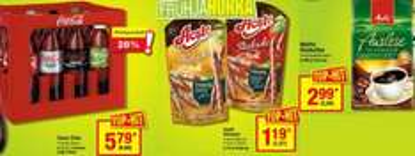 [metro 07.-13.05.] CocaCola 12x1L 5,79€/6,89€ | Aoste Stickado 70g 1,19€/1,27€ | Mellita Auslese 500g 2,99€/3,20€