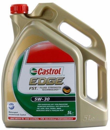 Castrol EDGE FST 5W-30 Motoröl 5L für 33,33 Euro @eBay
