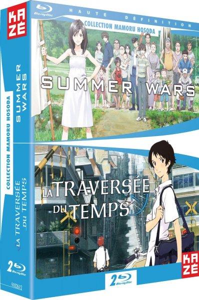[Blu-Ray] [Anime] Summer Wars + Das Mädchen das durch die Zeit sprang 2er Box [Amazon.es/fr] (DVD 17,80€)