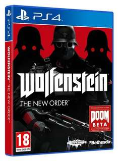 Wolfenstein: The New Order (PS4) für 17,64€ @Amazon.fr