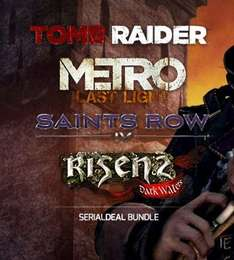 Tomb Raider + Metro Last Light + Risen 2 + Saints Row 4 Steam Bundle bei Serialdeal.de