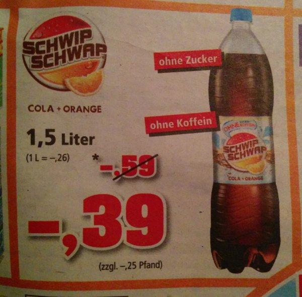 """[Thomas Philipps] 1,5l """"Schwip Schwap Cola & Orange"""" für unglaubliche 0,39€ ab 04.05.15 (Best Price)"""
