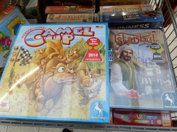reduzierte Spiele im Marktkauf Cottbus (Istanbul15€, Camel up 10€...)