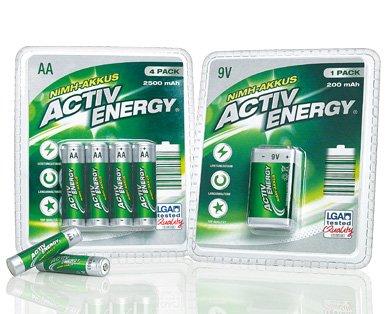 [ALDI SÜD ab 7.5.15] ACTIV ENERGY® NiMH-Akkus