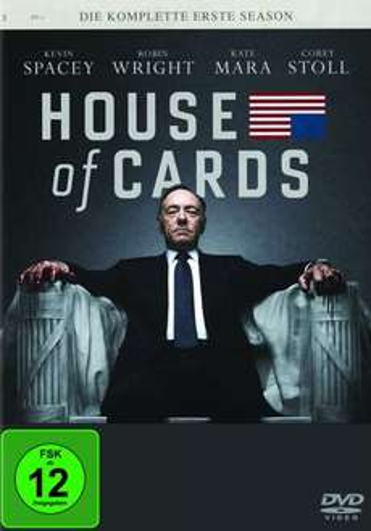 [Müller] House Of Cards DVD Staffel 1+2 für je 17,99 € - Kein Versand, Filialabholung