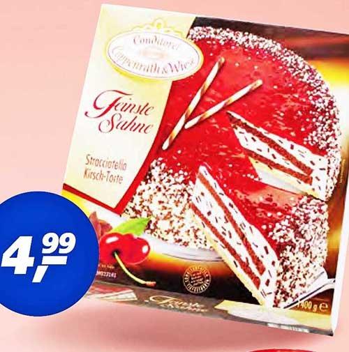 """""""Feinste Sahne""""-Torte von Coppenrath&Wiese, Bestpreis 4,99€ für EINE (!) Torte bei [REAL]"""